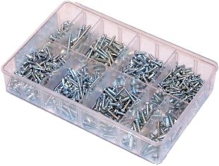 Assorted Self Tapping Screws