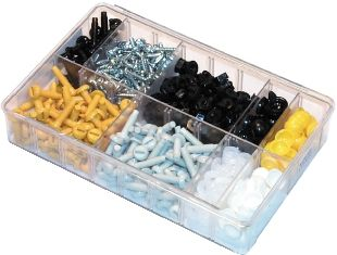 Assorted Number Plate Fasteners