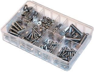 Assorted Set Screws and Fasteners