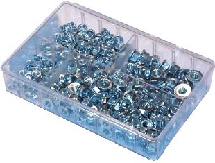 Assorted Serrated flange Nuts