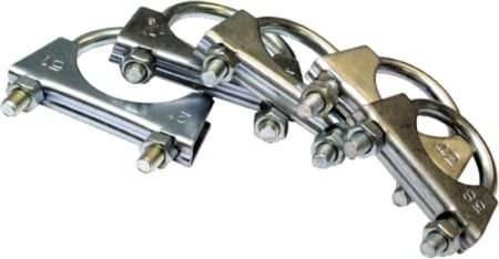 Assorted Exhaust Clamps