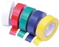 Assorted Coloured PVC Tape