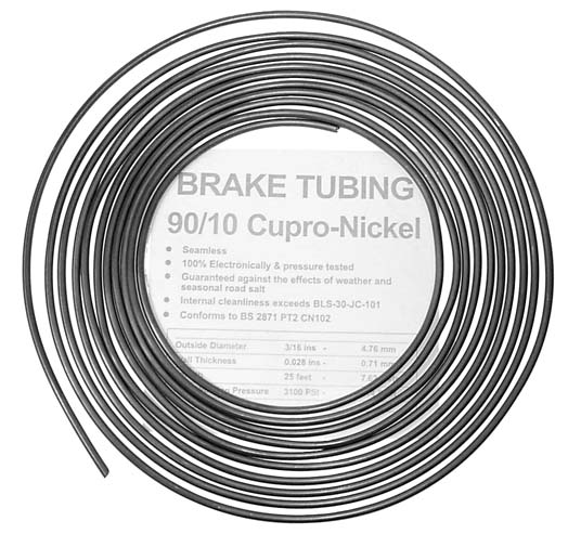 Cupro Nickel Brake Tubing Metric